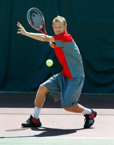 No. 48 ranked Dmytro Mamedov is the only Ute remaining in main draw action