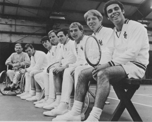 Bill Bennion (3rd from the right) and the 1969/1970 Utes.