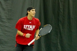 Sophomore Slim Hamza remains undefeated in Pac-12 play.