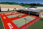 Outdoor Tennis Southeast View