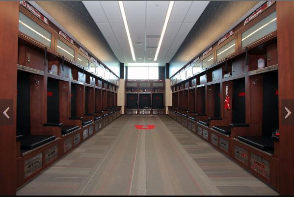 High School Football Locker Room Design