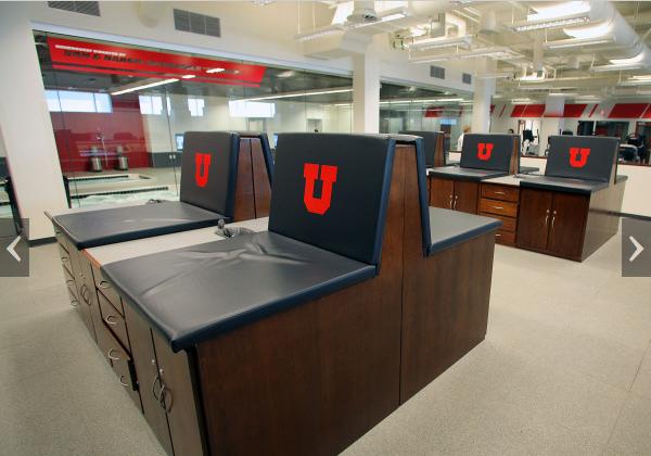 Training Room Taping Stations University Of Utah Men S