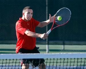 Utah Men's Tennis Devin Lane