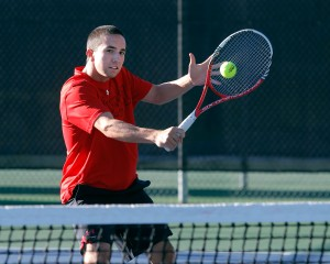 Utah Men's Tennis Devin Lane