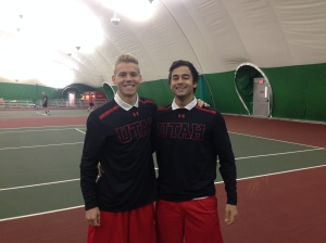 Matt Cowley and Alejandro Medinilla clinched the doubles point for the Utes.
