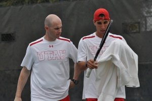 Coach Roeland Brateanu  (left) has been named ITA Mountain Region Assistant Coach of the Year.