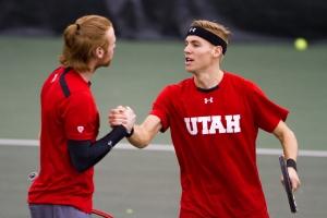 Cedric Willems and Matt Cowley Photo Credit: Chris Samuels, Daily Utah Chronicle