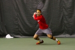 Slim Hamza – Monday, February 16, 2015 – Eccles Tennis Center – Salt Lake City, UT Photo Credit: Chris Samuels, Daily Utah Chronicle