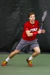 Santiago Sierra – Monday, February 16, 2015 – Eccles Tennis Center – Salt Lake City, UT Photo Credit: Chris Samuels, Daily Utah Chronicle