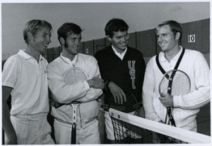 From the left, Dan Bleckinger, F.D. Robbins, Jim Osborne, and Dave Harmon.