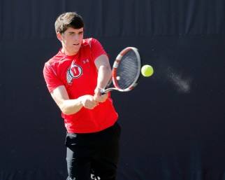Utah Men's Tennis Daniel Little