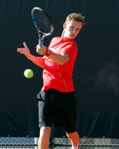 Utah Men's Tennis Freddy McGeehan