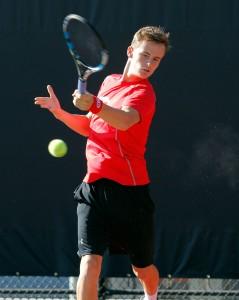 Utah Men's Tennis Freddy McGeehan