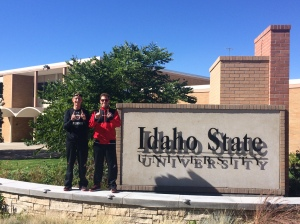 Sophomores Santiago Sierra and Johan Jonhagen dominated the ISU Invitational