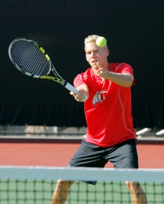 Utah Men's Tennis Matt Cowley