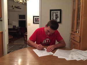 Jonathan Dollahite has signed an NLI with the University of Utah