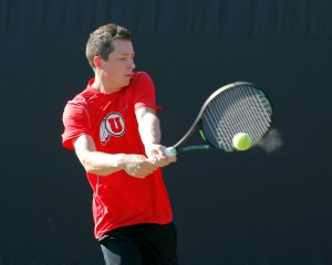 Utah Men's Tennis Jamey Swigart