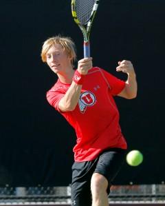 Utah Men's Tennis Johan Jonhagen