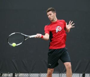 Utah men's tennis David Micevski