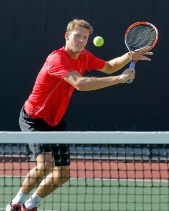 Utah Men's Tennis Egbert Weverink