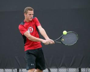 Utah men's tennis Slava Shaniyan