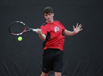 Utah men's tennis Dan Little