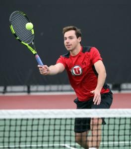 Utah men's tennis Santiago Sierra