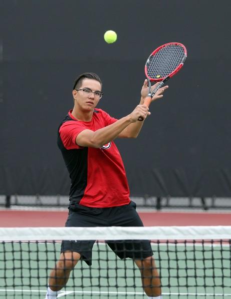 Utah men's tennis Azat Hankuliyev