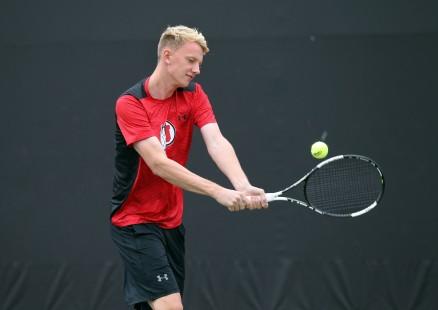 Utah men's tennis Joe Wooley