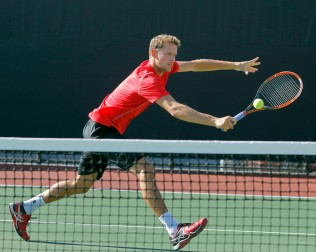 Utah Men's Tennis Egbert Weverink